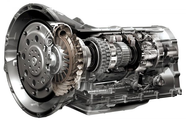 photo of inside a car transmission
