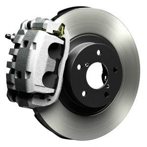 photo of a disc brake